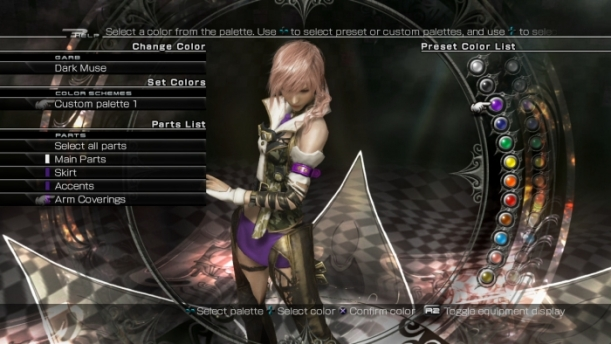 Lightning customization