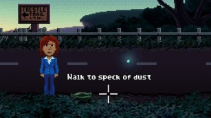 Speck of dust
