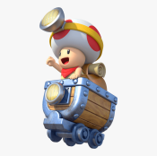 Captain Toad - Minecart